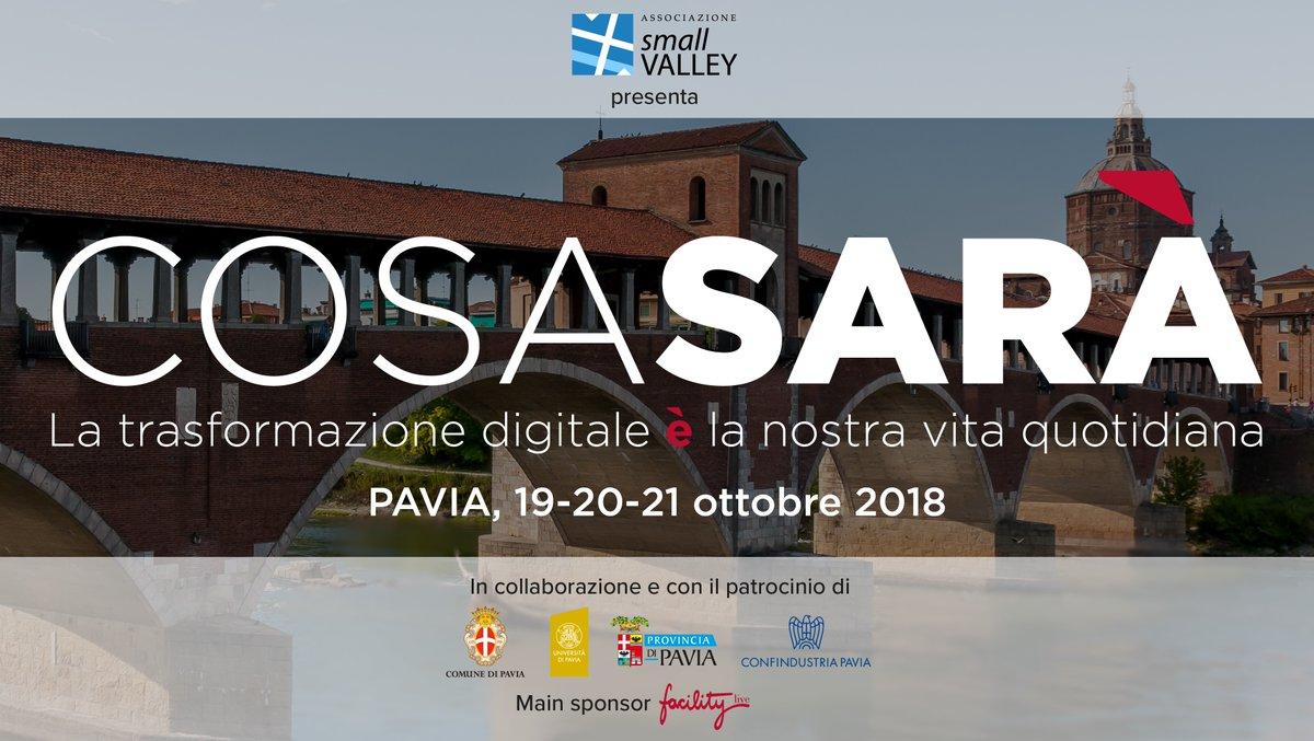 Festival Cosa Sarà – Pavia, 19-20-21 ottobre 2018